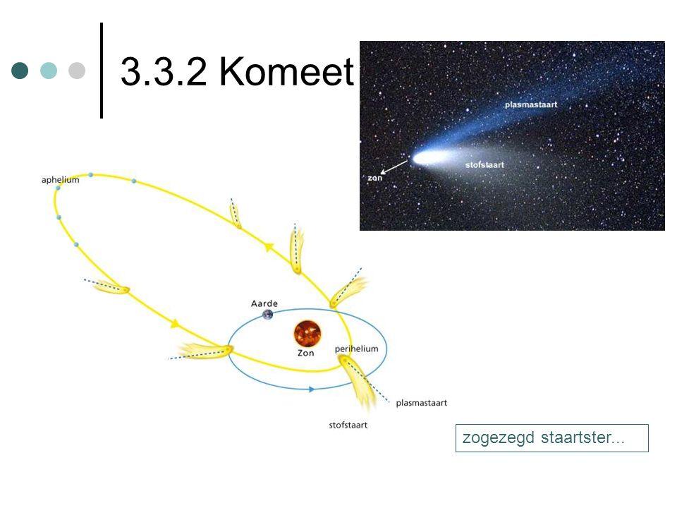 3.3.2 Komeet zogezegd staartster... coma