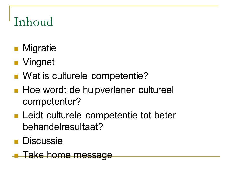 Beantwoording vraagstellingen Het beschikken over de attitude, de kennis en de vaardigheden om met culturele diversiteit in contacten om te gaan.