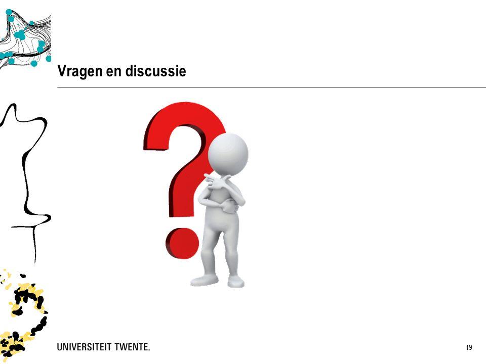 19 Vragen en discussie
