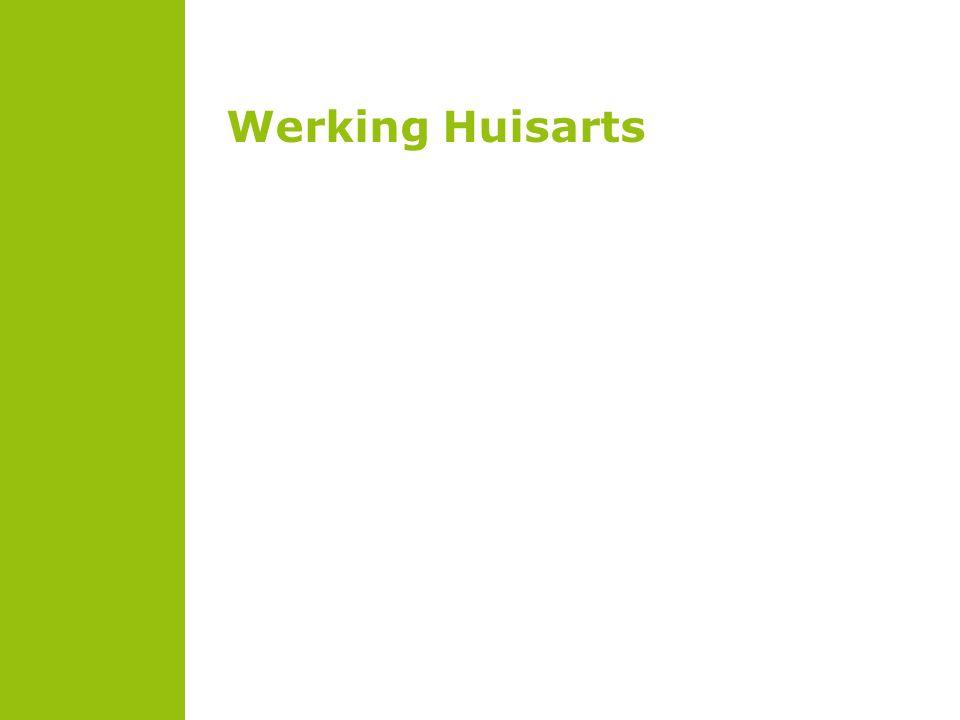 Werking Huisarts