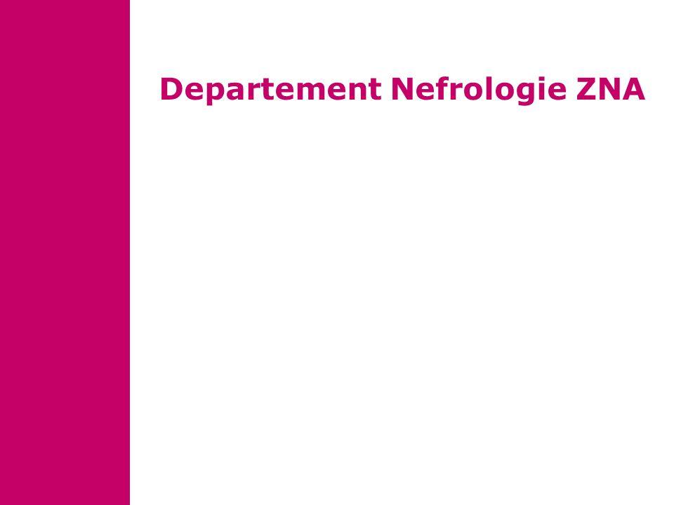 Departement Nefrologie ZNA