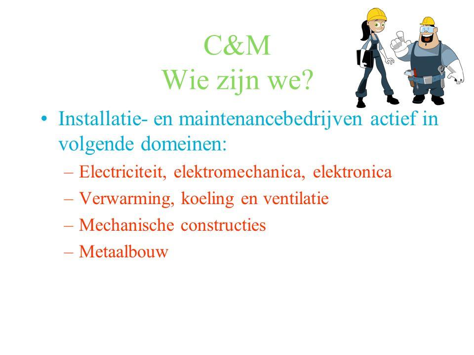 C&M Wie zijn we.