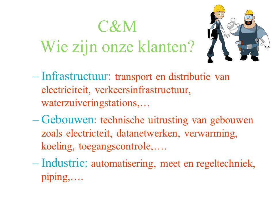 C&M Wie zijn onze klanten.