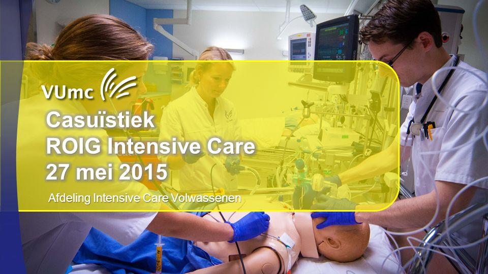 Afdeling Intensive Care Volwassenen