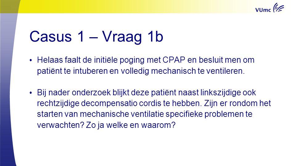 Casus 2 Een 31 jarige man met een blanco voorgeschiedenis wordt op de shockroom gepresenteerd.