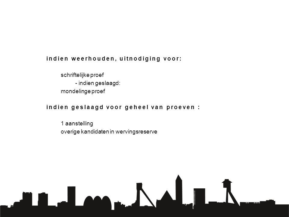 Stad Genk: derde grootste werkgever van Genk Ambitieuze organisatie met zin voor innovatie Onthaalbeleid, incl.