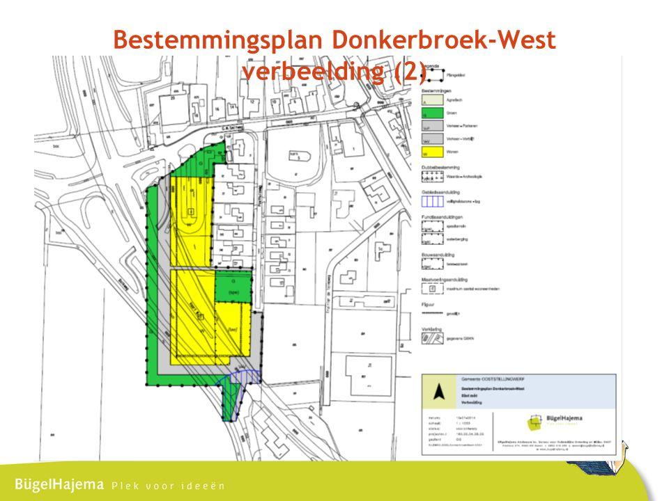 Bestemmingsplan Donkerbroek-West verbeelding (2)
