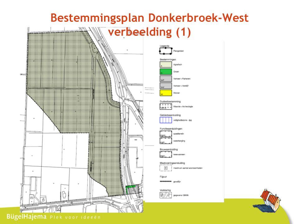 Bestemmingsplan Donkerbroek-West verbeelding (1)