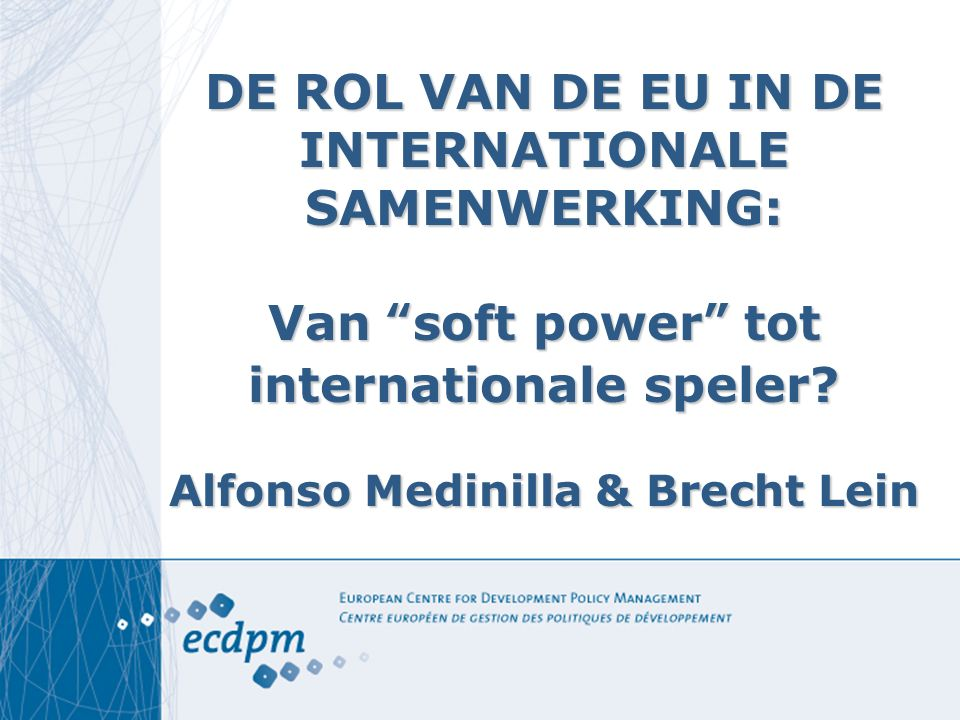 Toekomst ACP-EU is niet helder