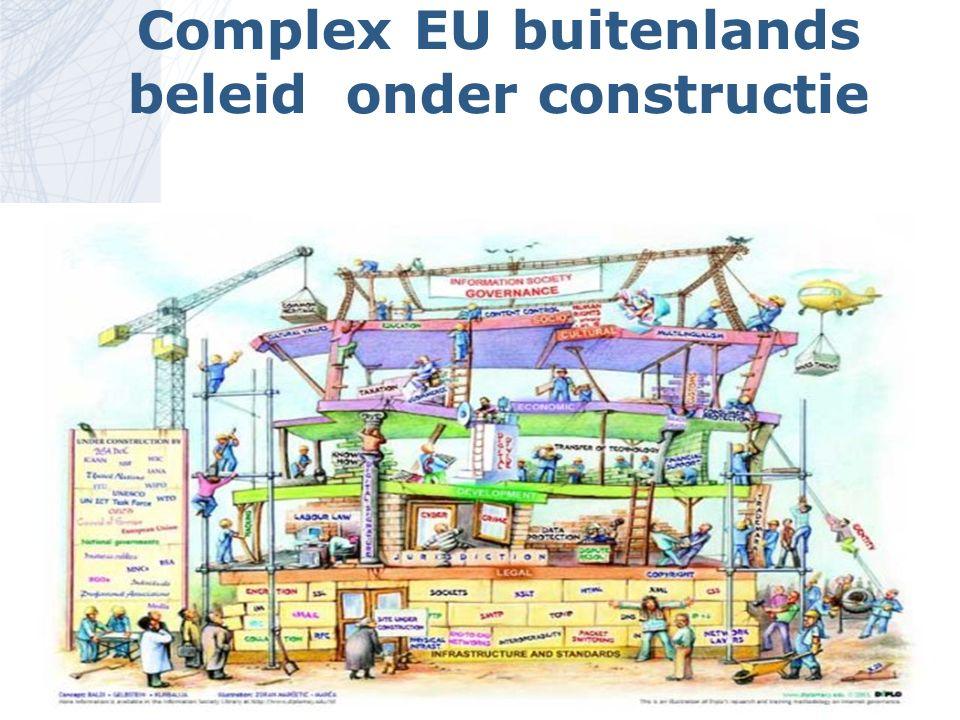 Complex EU buitenlands beleid onder constructie