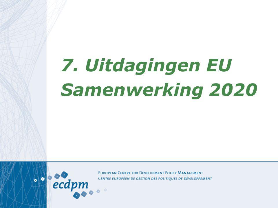 7. Uitdagingen EU Samenwerking 2020