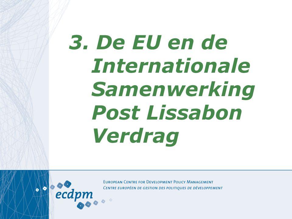 Partnerships 1.Vrede & veiligheid 2.Democratie, goed bestuur en mensenrechten 3.Handel en Regionale Integratie 4.Millennium Ontwikkelingsdoelstellingen 5.Energie 6.Klimaatsverandering 7.Migratie, mobiliteit en tewerkstelling 8.Informatie en ICT