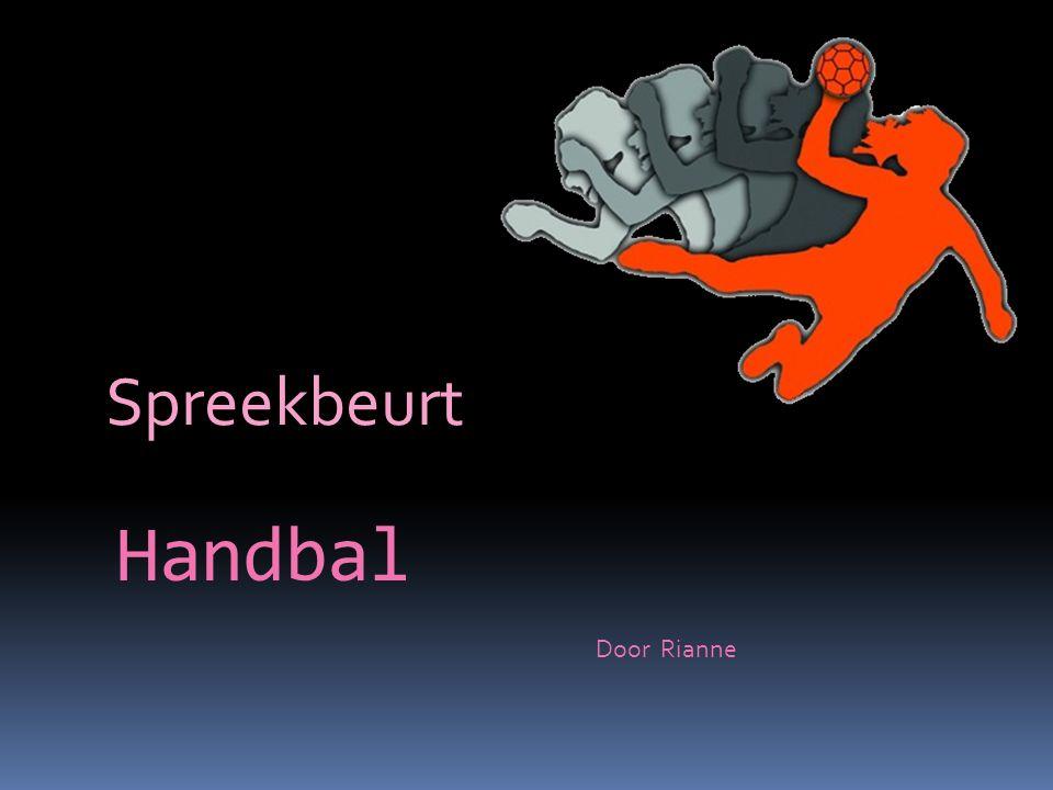 Handbal Spreekbeurt Door Rianne