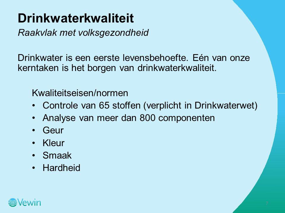 Aanleiding en achtergrond benchmark in drinkwatersector 8