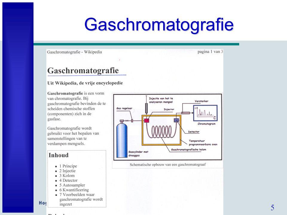5 Gaschromatografie