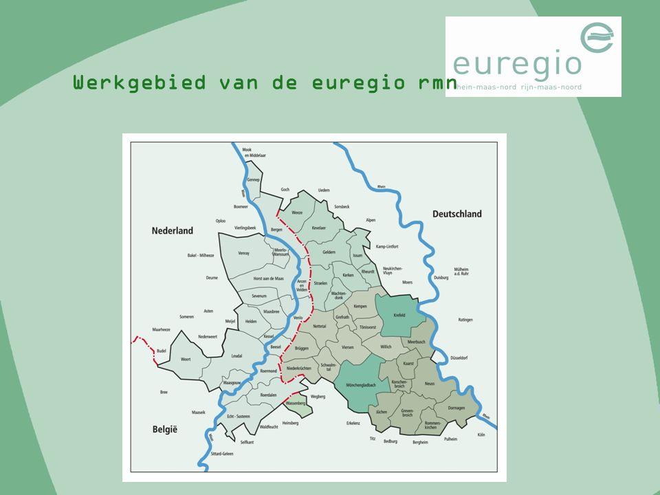 Werkgebied van de euregio rmn