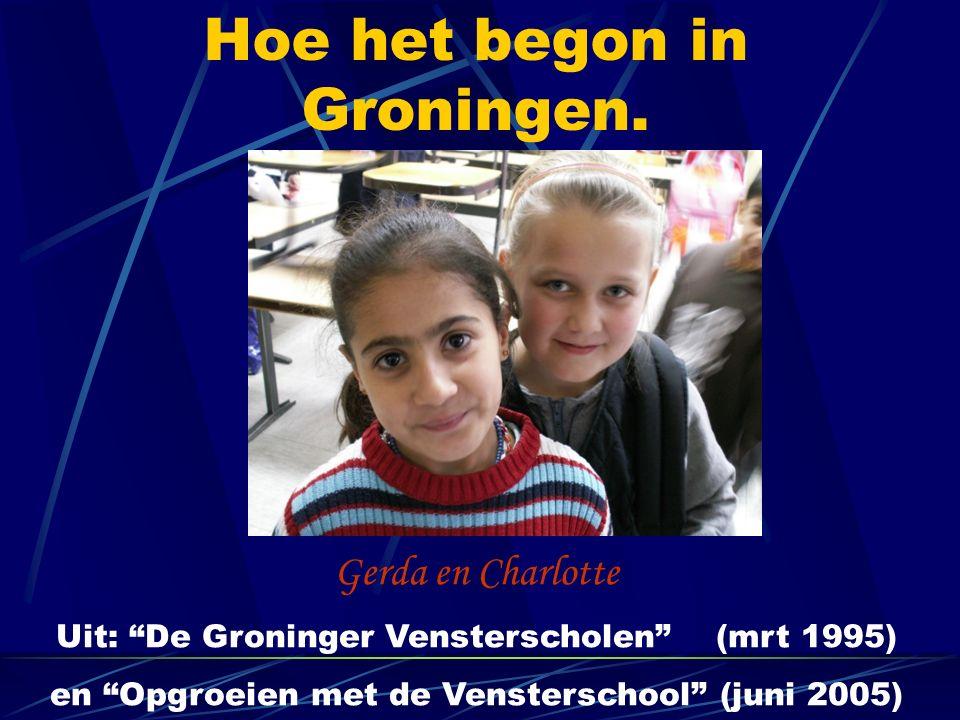 Hoe het begon in Groningen.