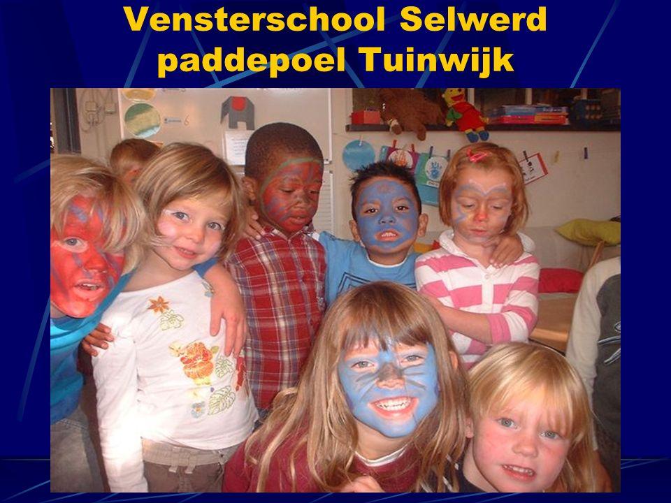 Vensterschool Selwerd paddepoel Tuinwijk