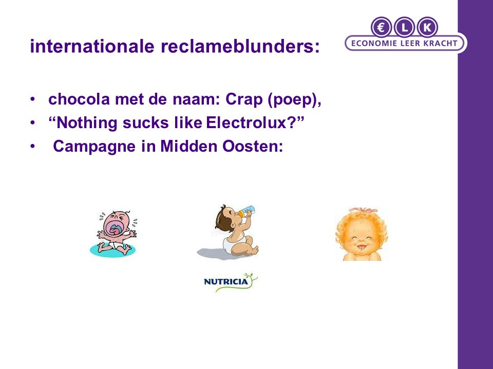 internationale reclameblunders: chocola met de naam: Crap (poep), Nothing sucks like Electrolux Campagne in Midden Oosten: