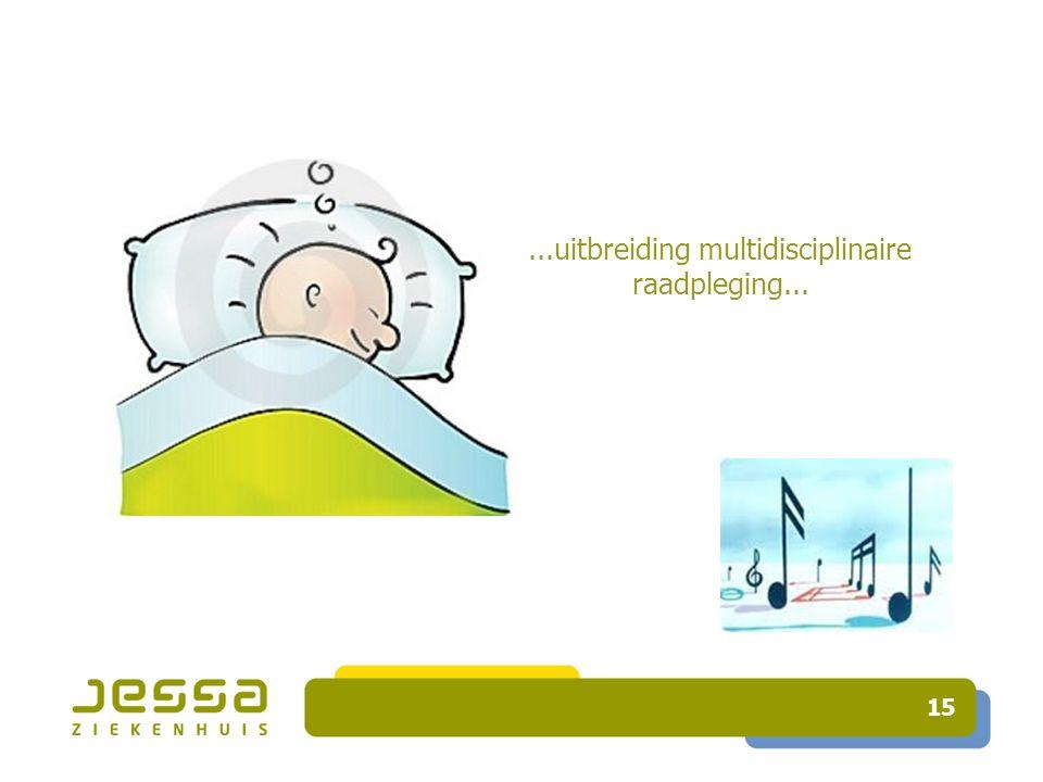 15...uitbreiding multidisciplinaire raadpleging...