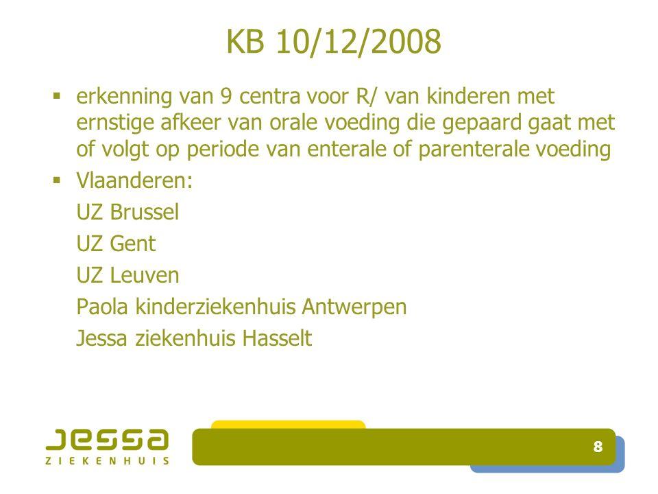 9 KB 10/12/2008 multidisciplinair team:  Dr Ph.Alliet (coördinator) en Dr E.