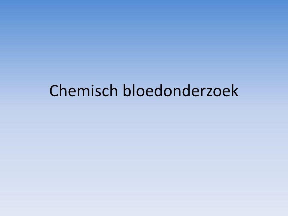 Chemisch bloedonderzoek