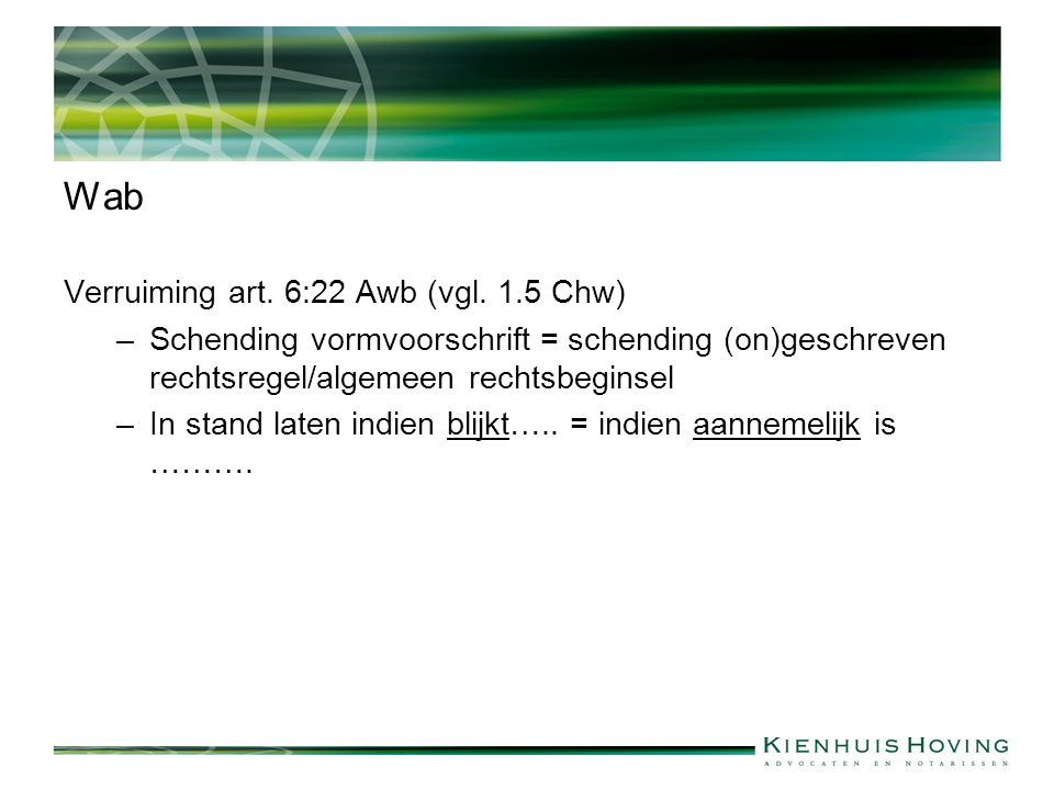 Overige jurisprudentie -ABRS 9 maart 2011, nr.201006983/1/M2 (art.