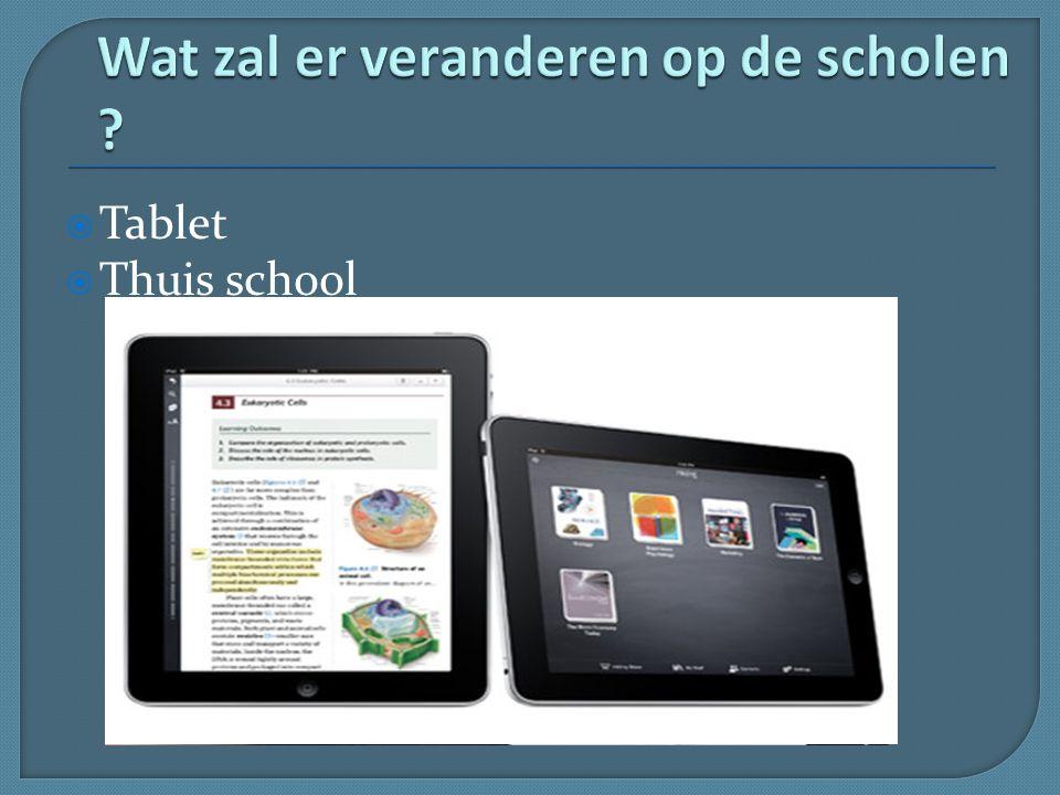  Tablet  Thuis school