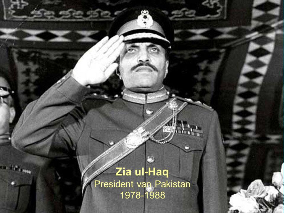 23 Zia ul-Haq President van Pakistan 1978-1988