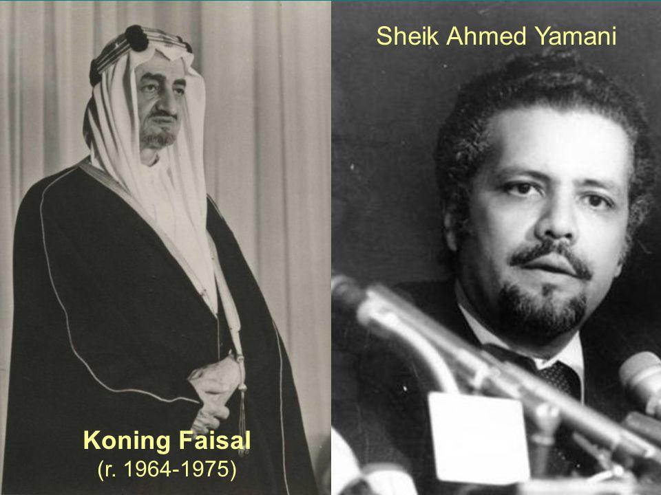 25 Koning Faisal (r. 1964-1975) Sheik Ahmed Yamani