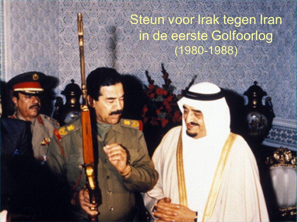 30 Steun voor Irak tegen Iran in de eerste Golfoorlog (1980-1988)