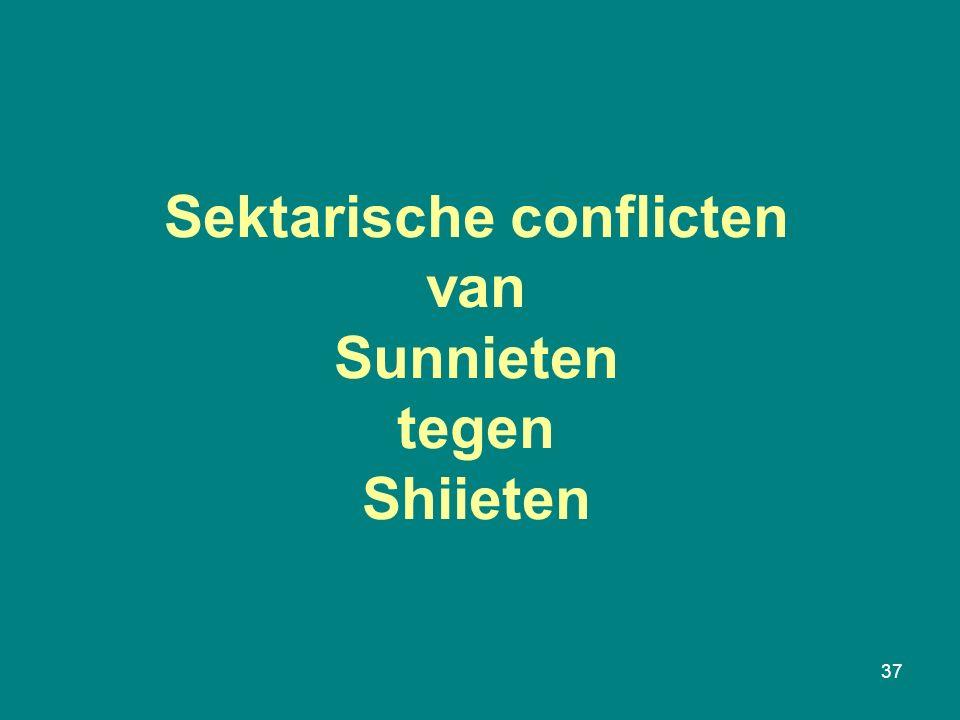 Sektarische conflicten van Sunnieten tegen Shiieten 37