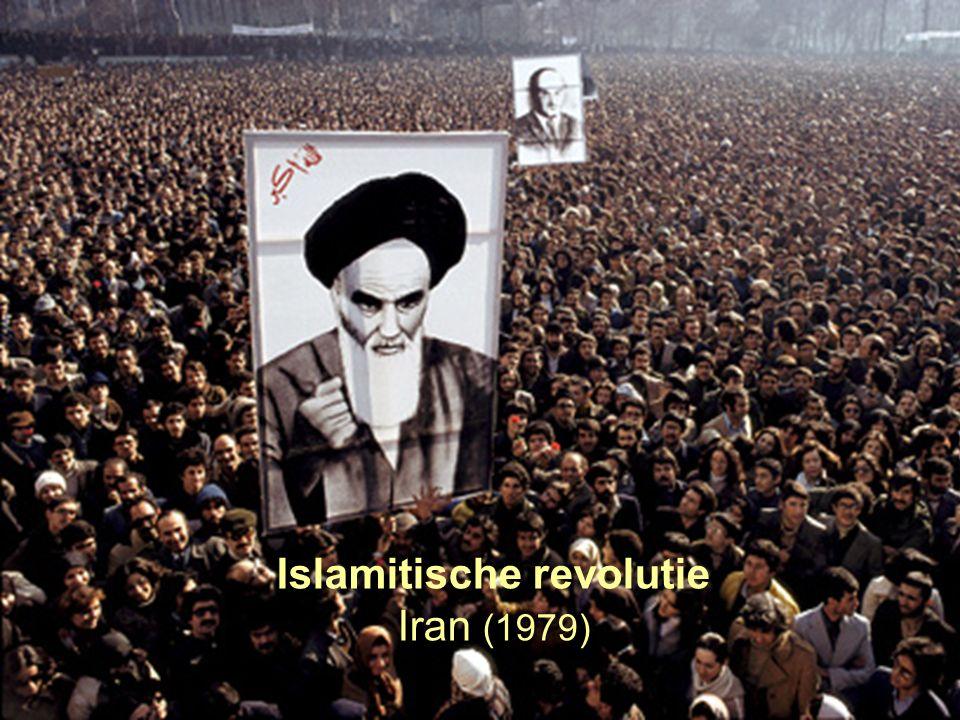 4 Islamitische revolutie Iran (1979)