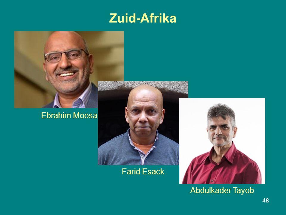 Zuid-Afrika 48 Ebrahim Moosa Farid Esack Abdulkader Tayob