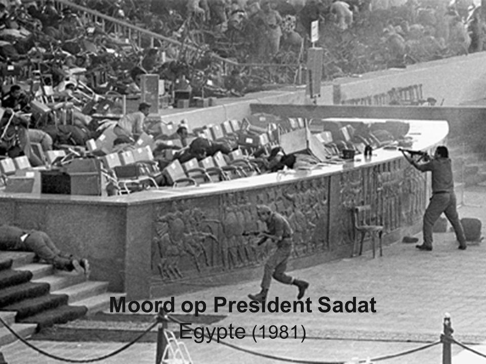 6 Moord op President Sadat Egypte (1981)