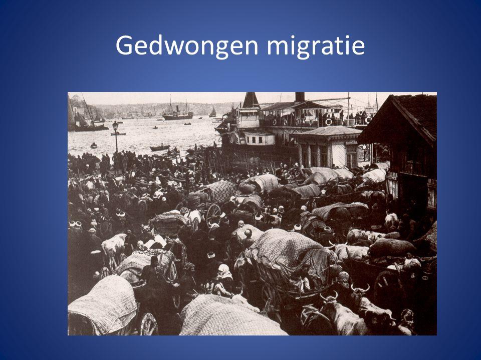 Gedwongen migratie