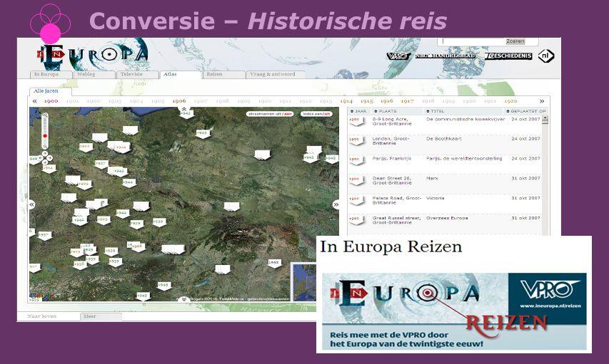 Conversie – Historische reis