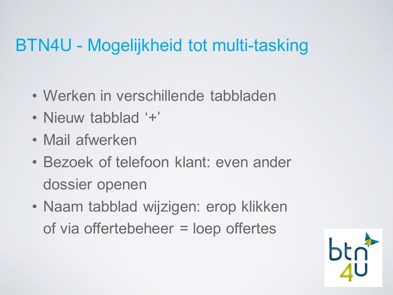 BTN4U - Gebruiksvriendelijker dan ooit: zoekcriteria Onderverdeeld in plaats / reizigers / transport / accommodatie Zoeken volgens TO en gekozen brochure Foutmelding: alle zoekcriteria verwijderen of criteria per onderdeel verwijderen = 'vuilbakje' Zoekcriteria wijzigbaar via 'potloodje'
