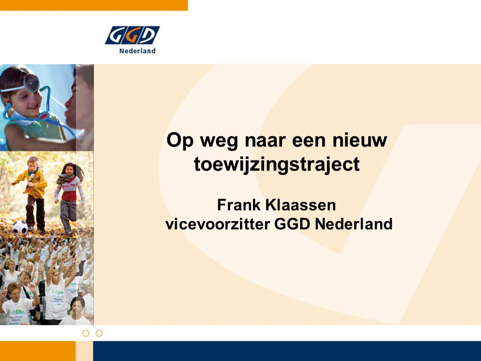 Advies instroom JGZ naar werkveld* instroom eerste fase tweede fase Thuiszorg 9318 GGD'en 49 7 Totaal 14225 * Volgens Capaciteitsorgaan, mei 2007