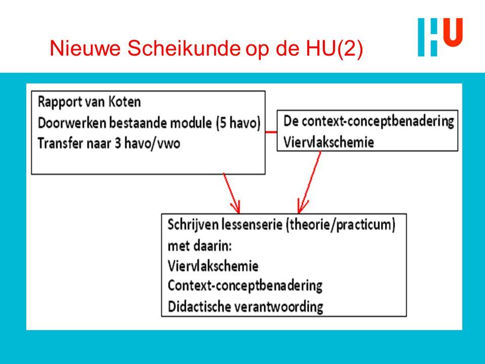 Nieuwe Scheikunde op de HU(2)