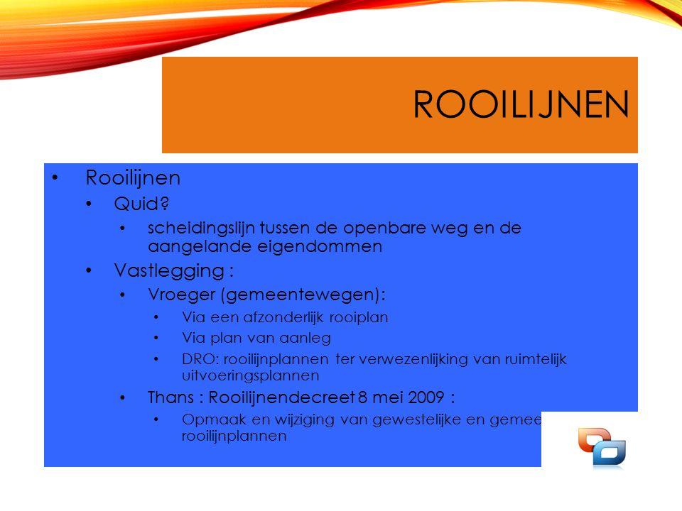 ROOILIJNEN Rooilijnen Quid.