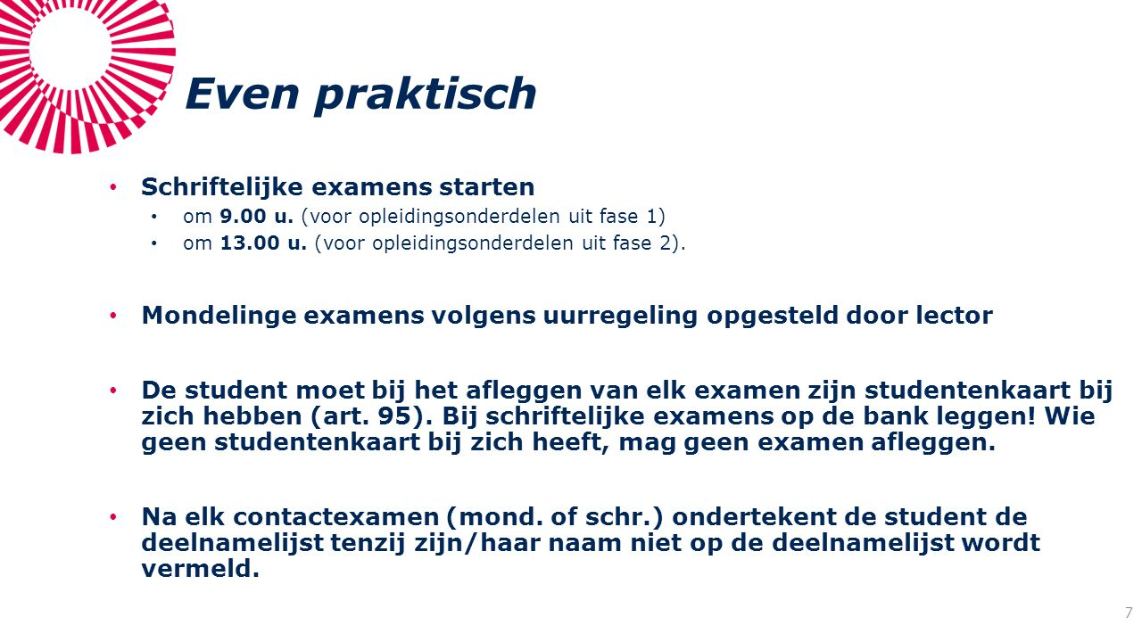 Examenkansen (art.