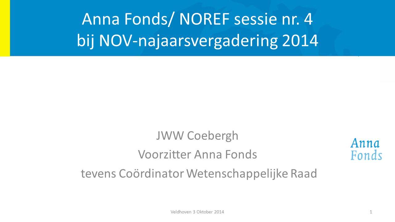 Anna Fonds/ NOREF sessie nr.