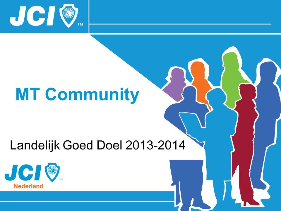 MT Community Landelijk Goed Doel 2013-2014