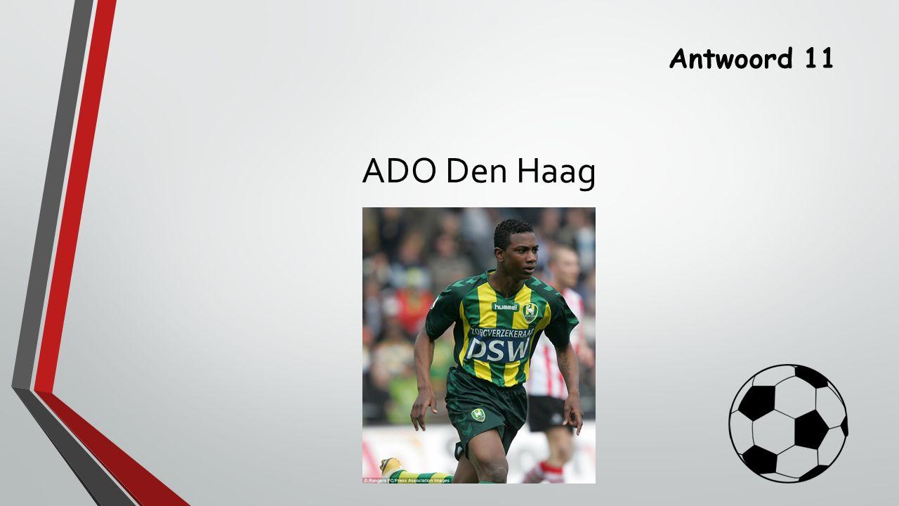 Antwoord 11 ADO Den Haag