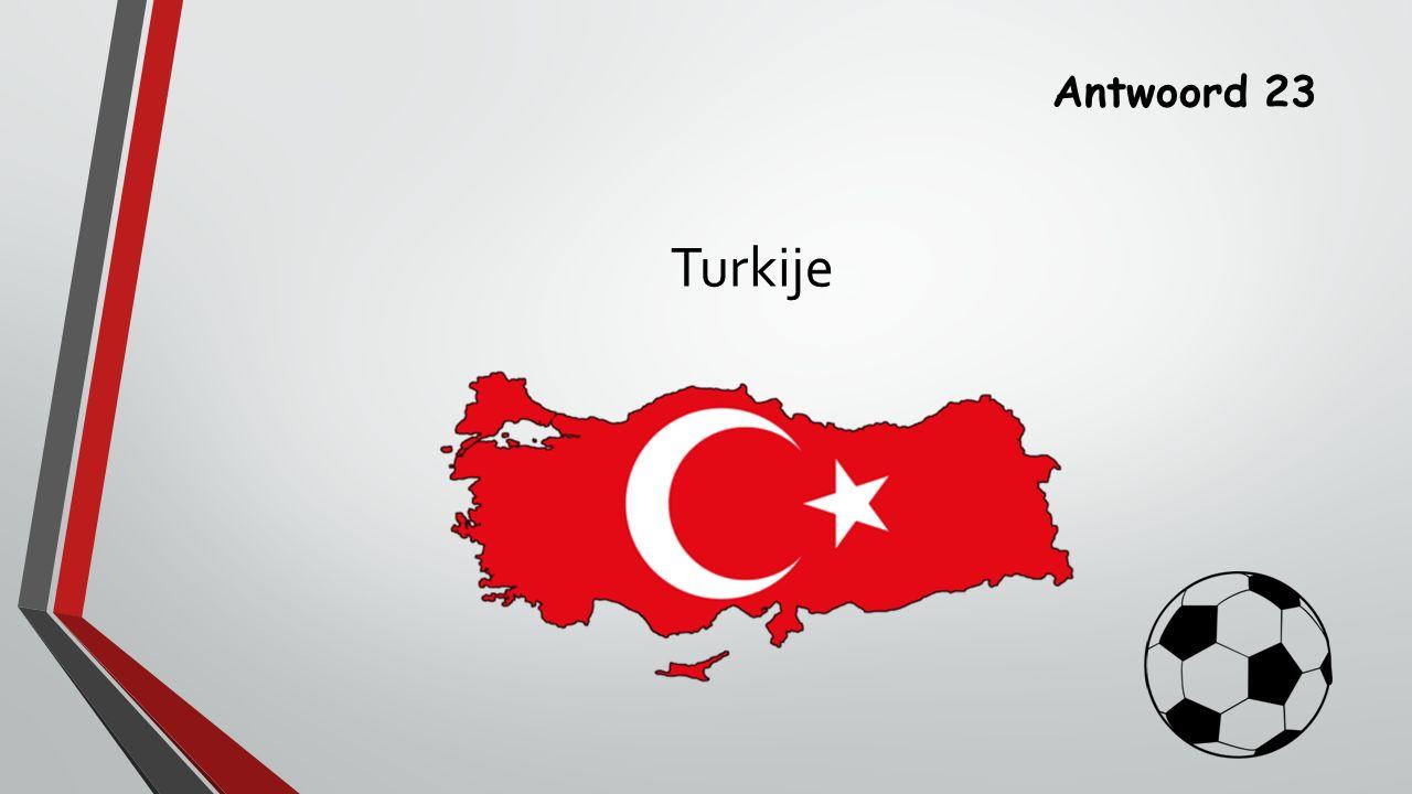 Antwoord 23 Turkije