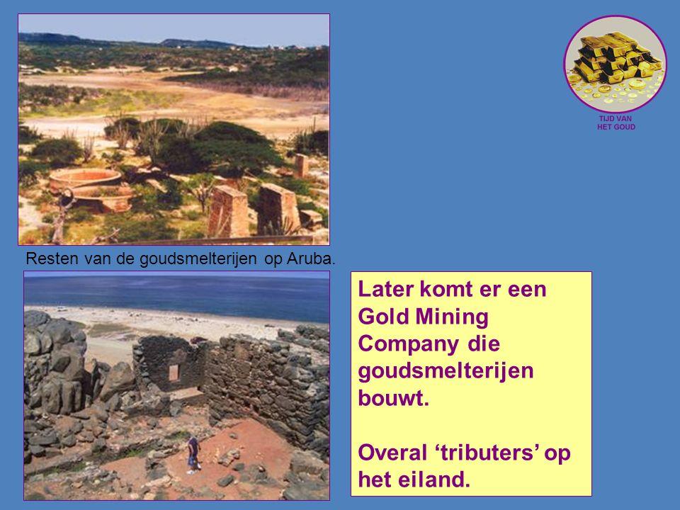 Later komt er een Gold Mining Company die goudsmelterijen bouwt.