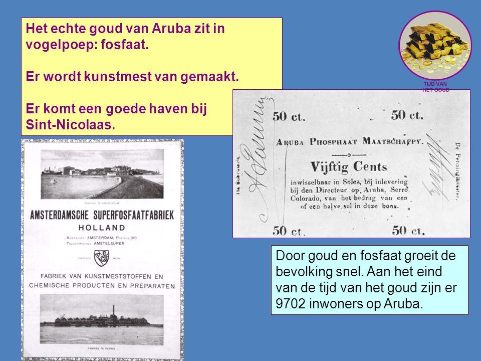 Het echte goud van Aruba zit in vogelpoep: fosfaat.
