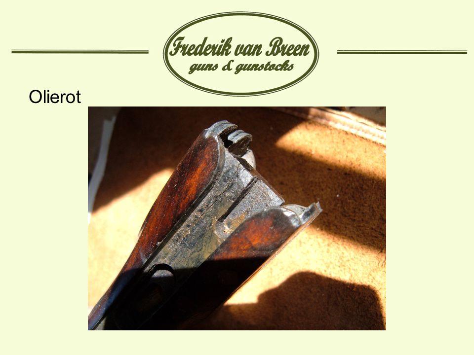 Preventie Olierot: Laat geen minerale oliën in contact komen met het hout.