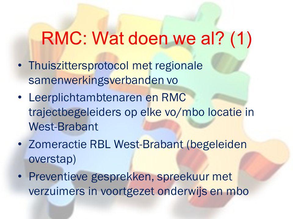 RMC: Wat doen we al.